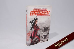 Image of Bezgrzeszna by Gail Carriger