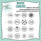 Image of Winter Candies (4x4) ~ Peachy