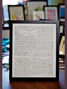 Image of Des Moines City Map by StudioKMO - ltd edition