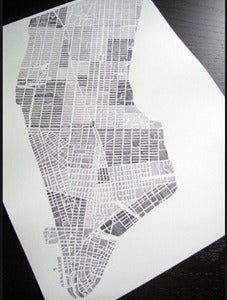 Image of City Prints: LA/Chicago/Boston/Charlotte/Manhattan