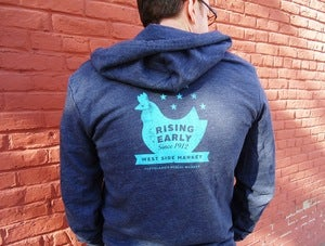 Image of 'Rising Early' West Side Market Sweatshirt