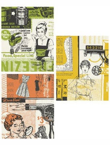 Image of Mid Century Girl Print  *Set of 3*