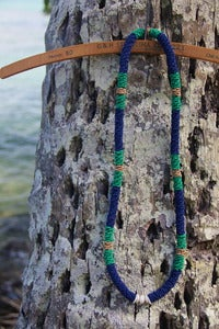 Image of afro lei necklace - makai