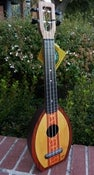 Image of Flea Surf - Concert Neck designed by Tiki King