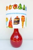 Image of Very Hungry Caterpillar Lamp 1 by Retro Print Revival