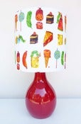 Image of Very Hungry Caterpillar Lamp 2 by Retro Print Revival
