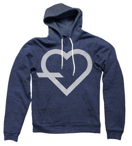 Image of Simple Hoodie (Navy)