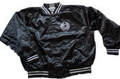 "Image of ""Benjamin Bones"" Baseball Jacket"
