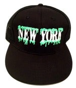 Image of NewYork/ Harlem SLIME Mesh Snapback