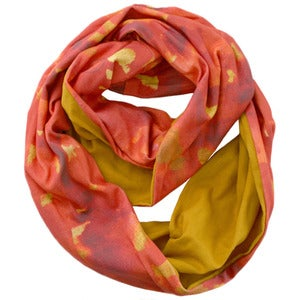 Image of Wildfire. Long Infinity Scarf