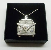 Image of Sterling Silver Kombi Van Pendant Necklace