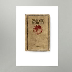 Image of The Man Who Sold The World Art Print