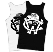 Image of Chris Webby 'CW' Logo Tank Top (Black or White)