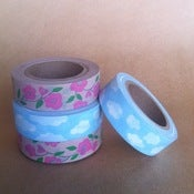 Image of paper boat press WASHI TAPE