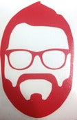 Image of Rutledge Silhouette Decal (Red)