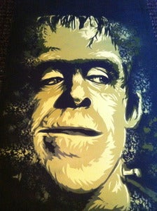 "Image of ""Fred Gwynne"" (1/1 ON WOOD)"