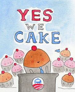 Image of Yes We Cake! Postcards