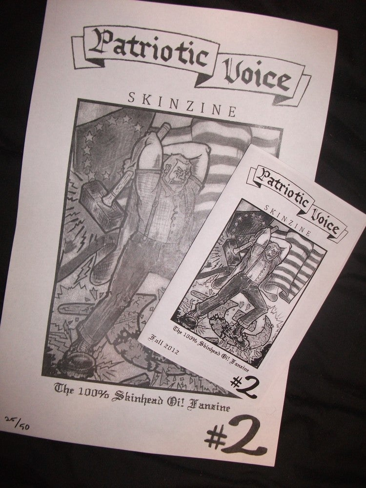 Patriotic Voice Skinzine #2 and poster!