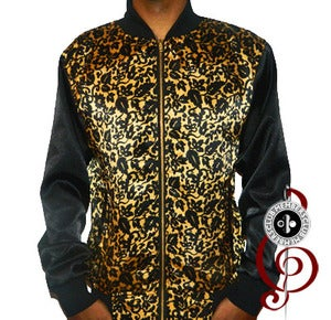 Image of Gold Pierre'  Members Club Silk Jacket