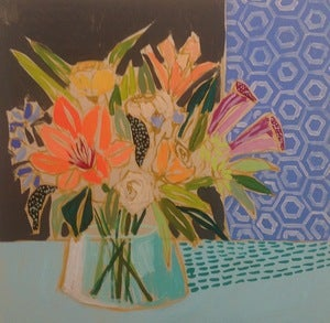 Image of 24x24 Flowers for Fern