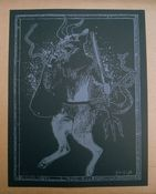 Image of 'krampus' print