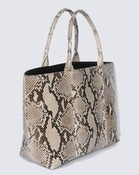 Image of Bradshaw Tote - Natural Python