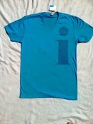 Image of i - men's v-neck - teal