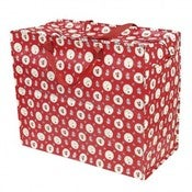 Image of Jumbo storage bag - red doily
