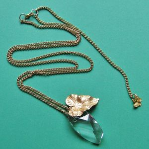 Image of Swarovski Crystal Forest Fruit Long Necklace