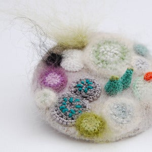 Image of Mouldy madness brooch