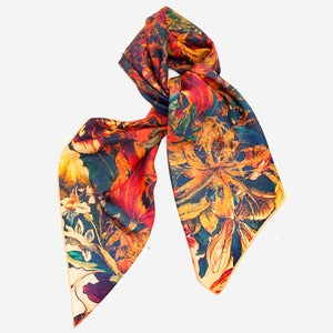 Image of Follow - Silk Scarf