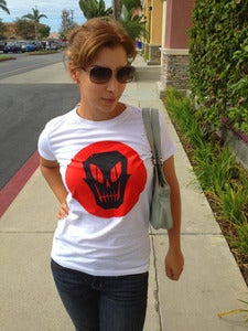 Image of DEATHFACE SKULL T-SHIRT