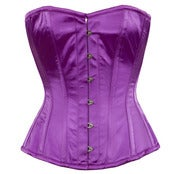 Image of Purple Satin Overbust