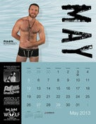 "Image of BLOWOUT: Ryan Kirk Signed ""The Men of 2013 : Los Angeles"" 13-Month Calendar"
