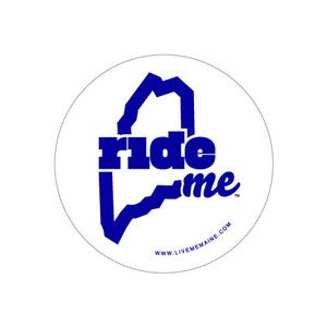 Image of RideME Sticker