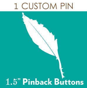 Image of 1 Custom Pinback Button
