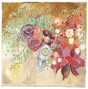 "Image of flowers for katie 40""x40"""