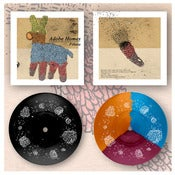 "Image of DK031: Adobe Homes - Piñata 9"" EP w/ Etched B-side - Black /30, Tri-Colour /100"