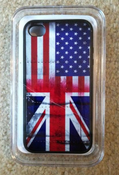 Image of US/UK Flag iPhone Case