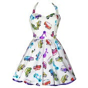 Image of 50s Style &quot;Camper Van&quot; Party Dress