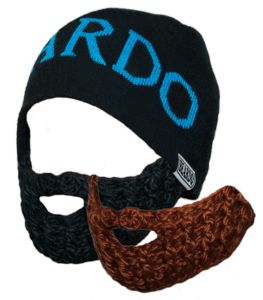 Image of Beardo 'Legit Knit' Blue Combo