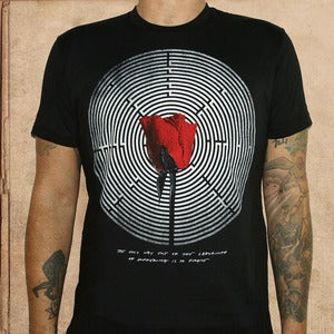 Image of Looking for Alaska - discharge ink - unisex