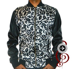 Image of Black Pierre' Members Club Silk Jacket