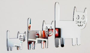 Image of Shatterproof Cat Family mirrors