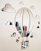 Image of Shatterproof Hot Air Balloon Mirror Set