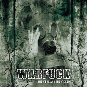"Image of WARFUCK ""The Weak and the Wicked"" - Limited Green LP"