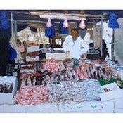 Image of Trevor Burgess: Fish Stall