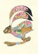 Image of Hare Running - Print