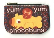 Image of Chocolate Bubbles Coin Purse