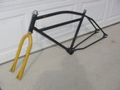 Image of Old School Laguna 26&quot; BMX Frame Kit -Like Cooks Brothers!